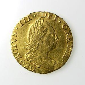 George III Gold Half Guinea 1760-1820AD 1786AD-13561