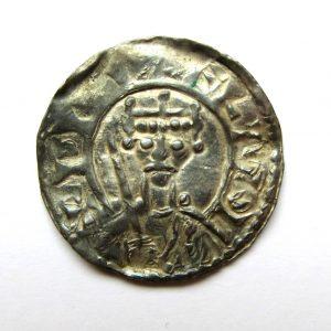 William II Silver Penny 1087-1100AD-13456