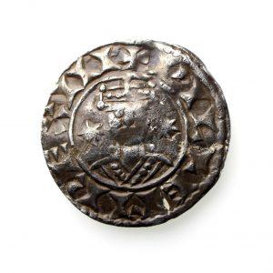 William I Silver Penny 1066-1087AD Two Stars Thetford -13757