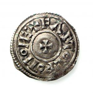 Kings of Wessex Eadgar Silver Penny 959-975AD-14392