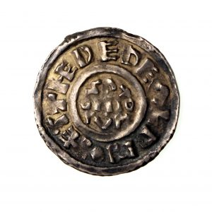 Kings of Wessex Aethelwulf Silver Penny 839-858AD-14426