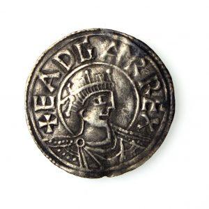 Kings of Wessex Eadgar Silver Penny 959-975AD Bedford-14428