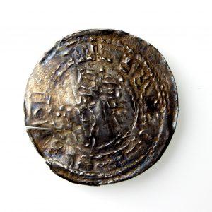 Henry I Silver Penny 1100-1135AD Profile Left Totnes -14462