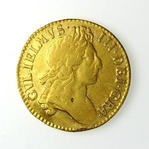William III Gold Guinea 1700AD-14471
