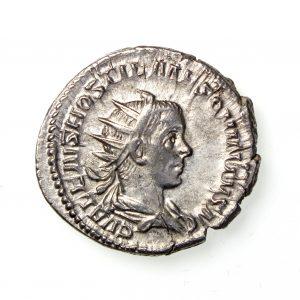 Hostilian Silver Antoninianus 251AD-14629