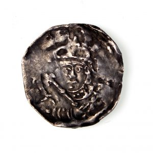 Stephen Silver Penny 1135-1154AD BMC type II London -14645