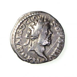 Clodius Albinus Silver Denarius 193-197AD-14683