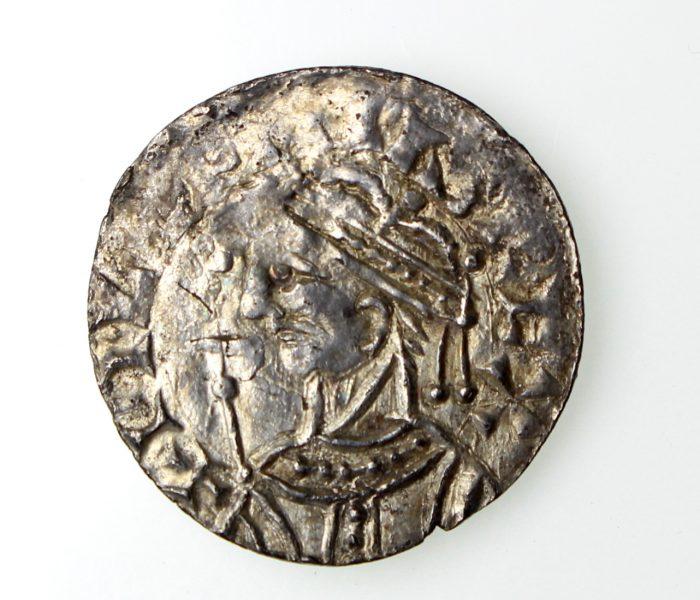 William I Silver Penny 1066-1087AD Profile left, Warwick mint-14819