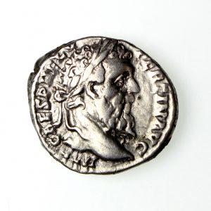 Pertinax Silver Denarius 193AD-14831