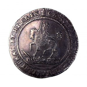 Charles I Silver Pound 1625-1649AD Oxford 1642AD -15015