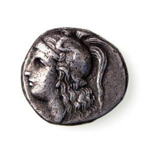 Calabria, Tarentum Silver Drachm 281-272BC-15407