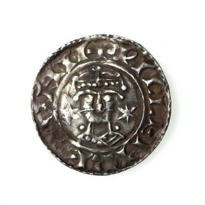 Wiliam I Silver Penny Two Stars Type 1066-1087AD Norwich -15426