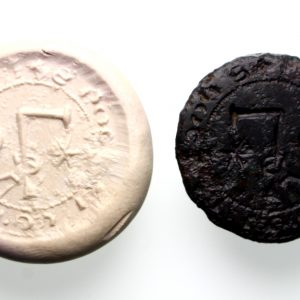 15th Century Seal Matrix S' Rogeri Le Plomer -15258
