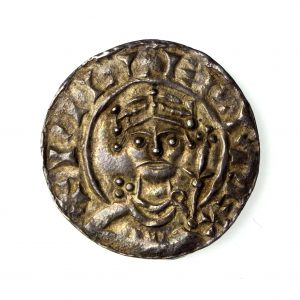 William I Silver Penny 1066-1087AD Paxs type Gloucester-15561