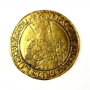 James I Gold Unite 1603-1625AD mm. Lis-15580