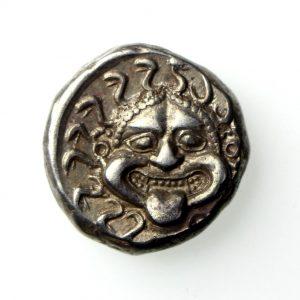 Apollonia Pontika Silver Drachm Circa 400BC-15476