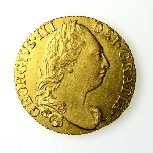 George III Gold Guinea 1760-1820ADAD 1783AD-15815