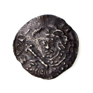 Stephen Silver Penny Voided Cross & Stars 1135-1154AD Hastings -15944