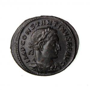 Constantine I Bronze Follis 306-337AD Trier -16027