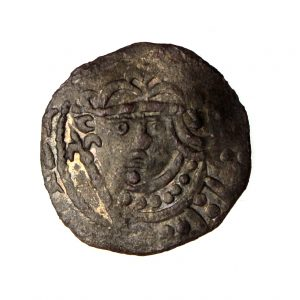 Stephen Silver Penny 1135-1154AD Voided Cross & Stars -16145