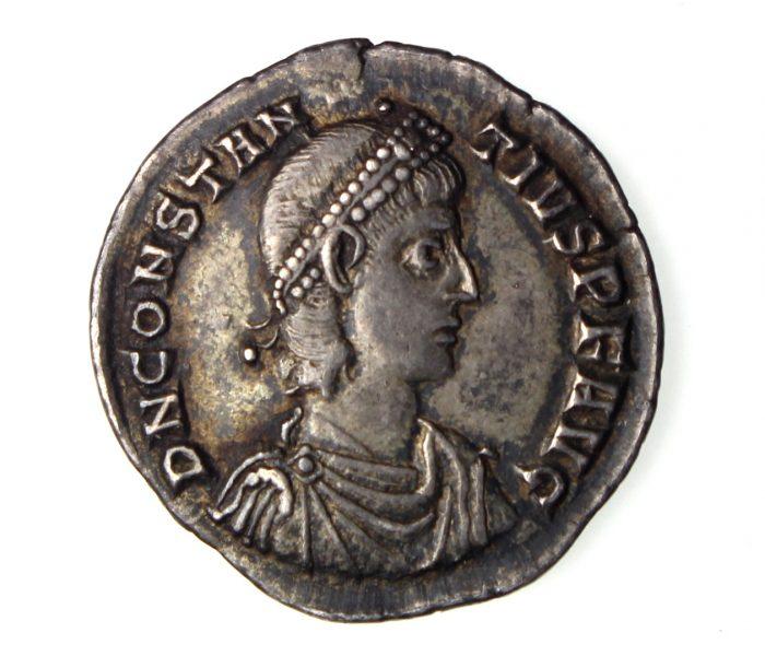 Constantius II Silver Siliqua 337-361AD-16225