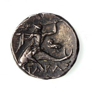 Calabria, Tatentum Circa 272-240BC Silver Nomos-16241