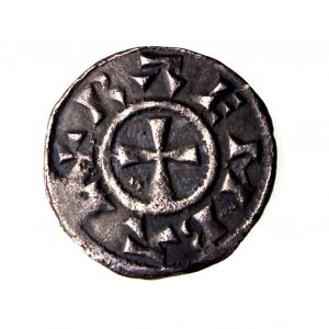 Viking Danish East Anglia St Edmund Silver Penny 885-915AD-16252