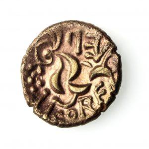 Celtic Gold Stater Corieltauvi Retro Vep Corf v. rare -16400