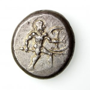 Pamphylia Aspendos Silver Stater 465-430BC-16545