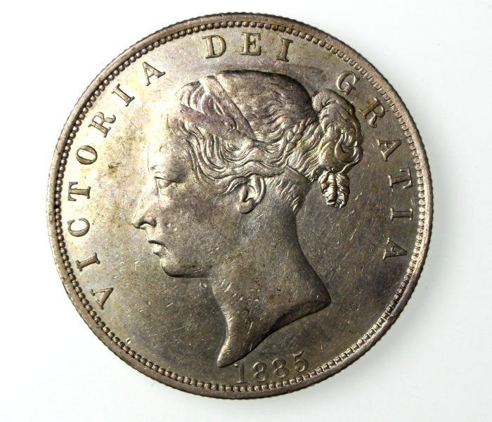 Victoria Silver Halfcrown 1837-1901AD 1885AD-16571