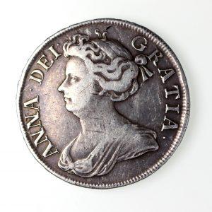 Anne Silver Halfcrown 1702-14AD 1712AD-16594