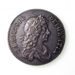 Charles II Silver Shilling 1660-85AD 1668AD EF-16698