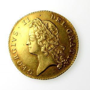 George II Gold Two Guinea 1727-60AD 1738AD-16704