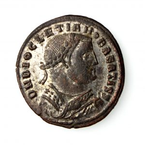 Diocletian Tinned Bronze Follis Post Abdication 384-305AD-16756