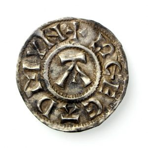 Viking Danish East Anglia 885-915AD St Edmund Silver Penny -16874