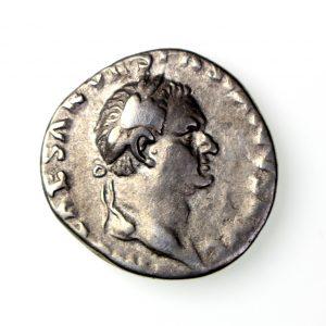 Vespasian Silver Denarius 69-79AD Judaea-16989