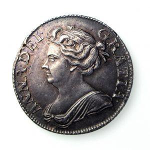 Anne Silver Shilling 1702-14AD 1709AD-17075