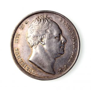 William IV Silver Halfcrown 1830-37AD 1834AD-17090