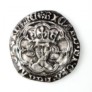 Richard III Silver Groat 1483-85AD sun/rose-17211