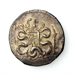 Mysia, Pergamon Silver Tetradrachm 166-67BC-17429