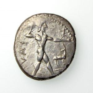 Bruttium, Kaulonia Silver Nomos 460-450BC-17433