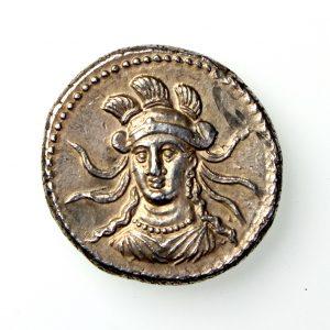 Cilicia, Tarsos Balakros Silver Stater 333-323BC-17435