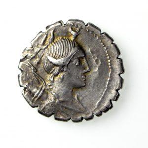 A. Postumius A.f. Albinus Silver Denarius 81BC-17925