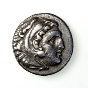 Alexander the Great Silver Drachm 336-323BC-18022