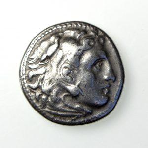 Macedon, Philip III Silver Drachm 323-317BC -18026
