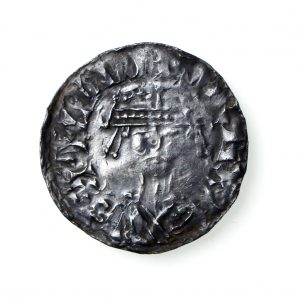 William I Silver Penny Bonnet Type 1066-1087AD-18183