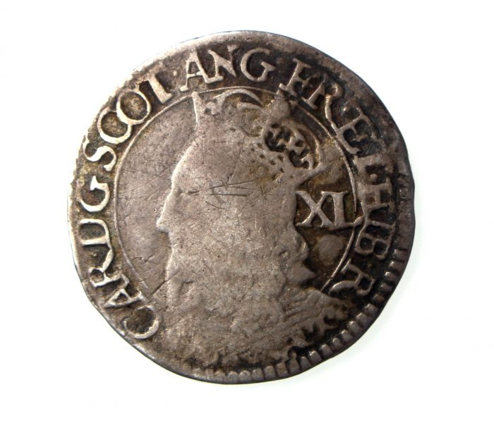Scotland Charles I Silver Forty Pence 1625-49AD-18191