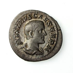 Maximus Silver Denarius 236AD-17907