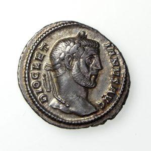 Diocletian Silver Argenteus 284-305AD-17911