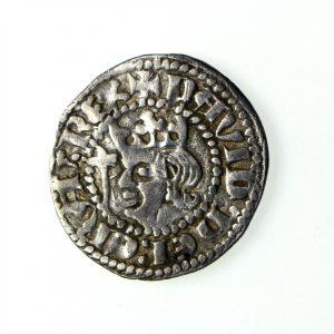 Scotland David II Silver Halfpenny 1329-1371AD Berwick Exceptional -18317